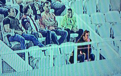 Romano, candidato a dirigir al Cruz Azul, estuvo en el Estadio Chivas