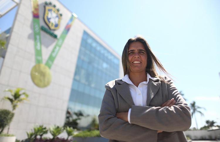 Emily Lima es nueva entrenadora de Brasil