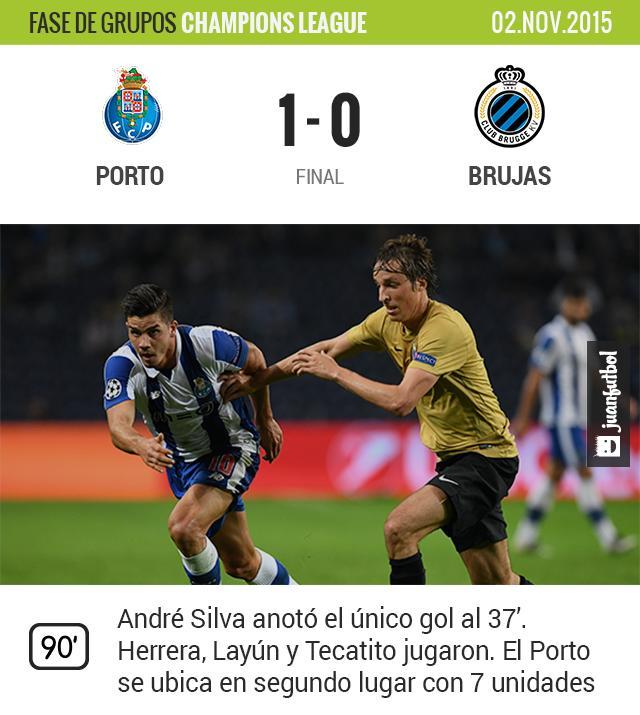 Porto vence al Brujas