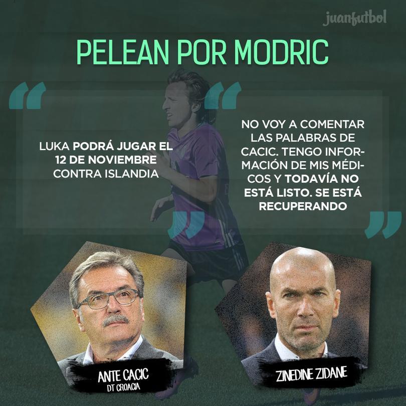Croacia y el Madrid se pelean por Luka Modric
