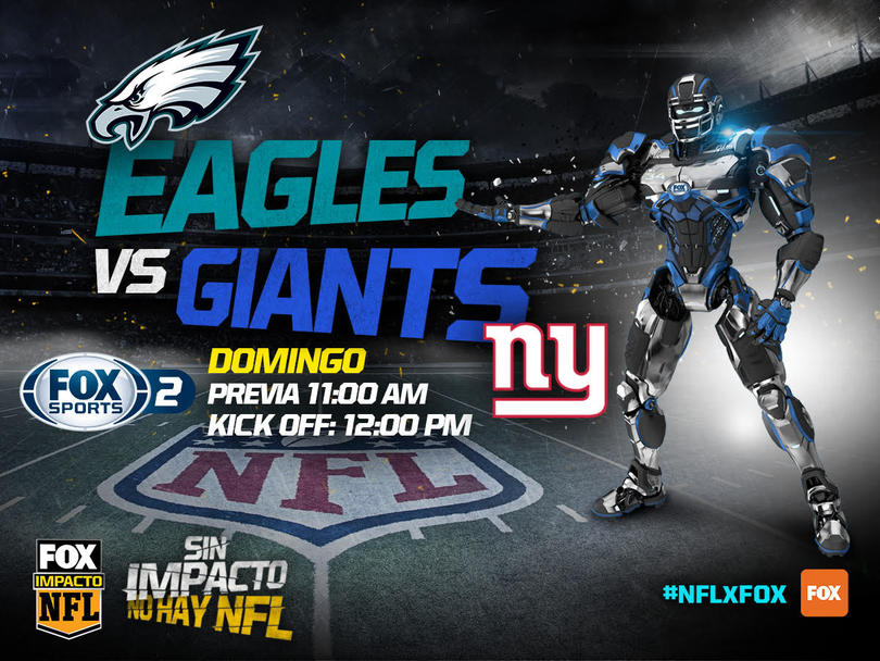 Eagles y Giants sacarán chispas