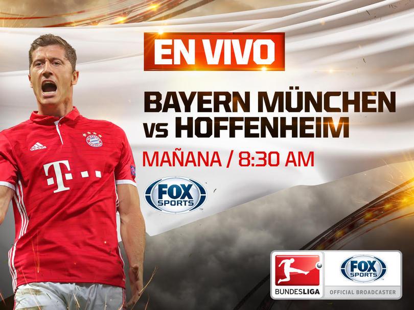 Bayern y Hoffenheim chocharán en un apasionante duelo de la Bundesliga
