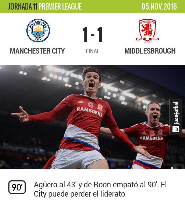El Moro le saca el empate al City