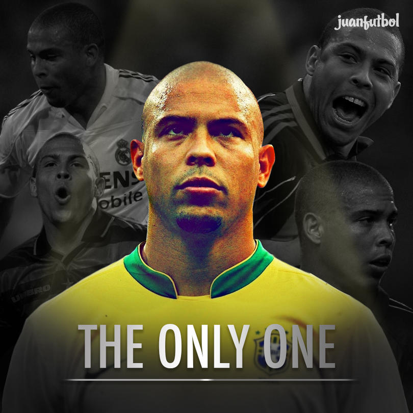 """El mejor """"9"""" del mundo, un antes y un después en la historia del futbol desde que Ronaldo tocó un balón."""