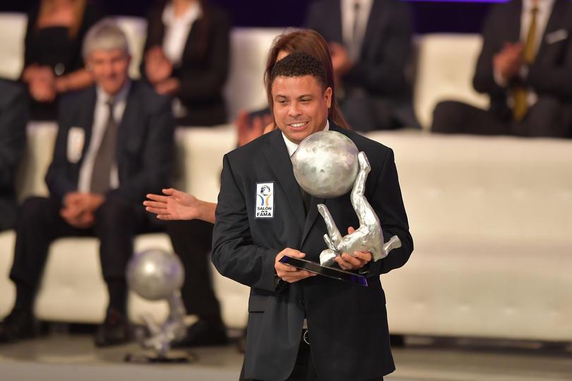 Ronaldo en el Salón de la Fama