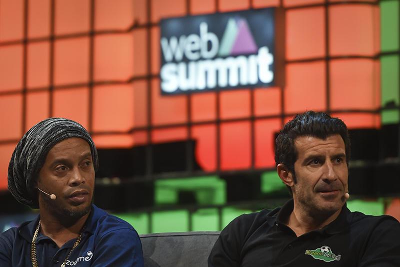 Figo y Ronaldinho