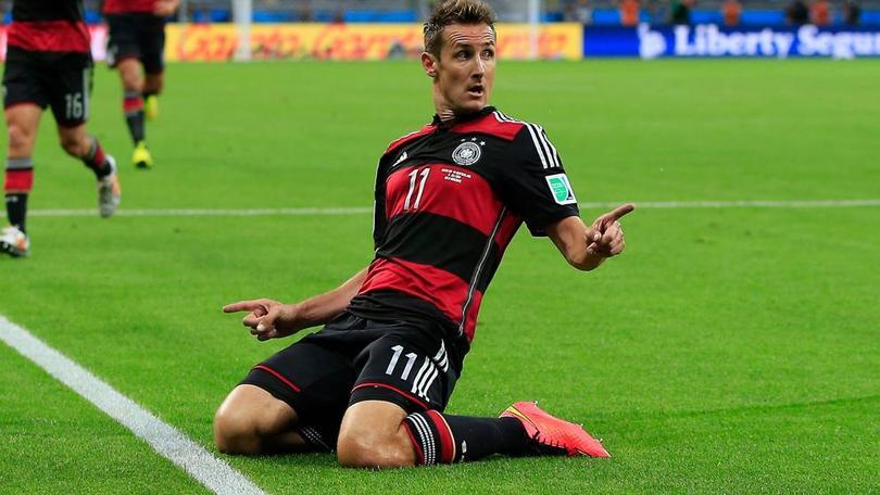 Klose rompió la marca de Ronaldo por más goles anotados en un mundial.