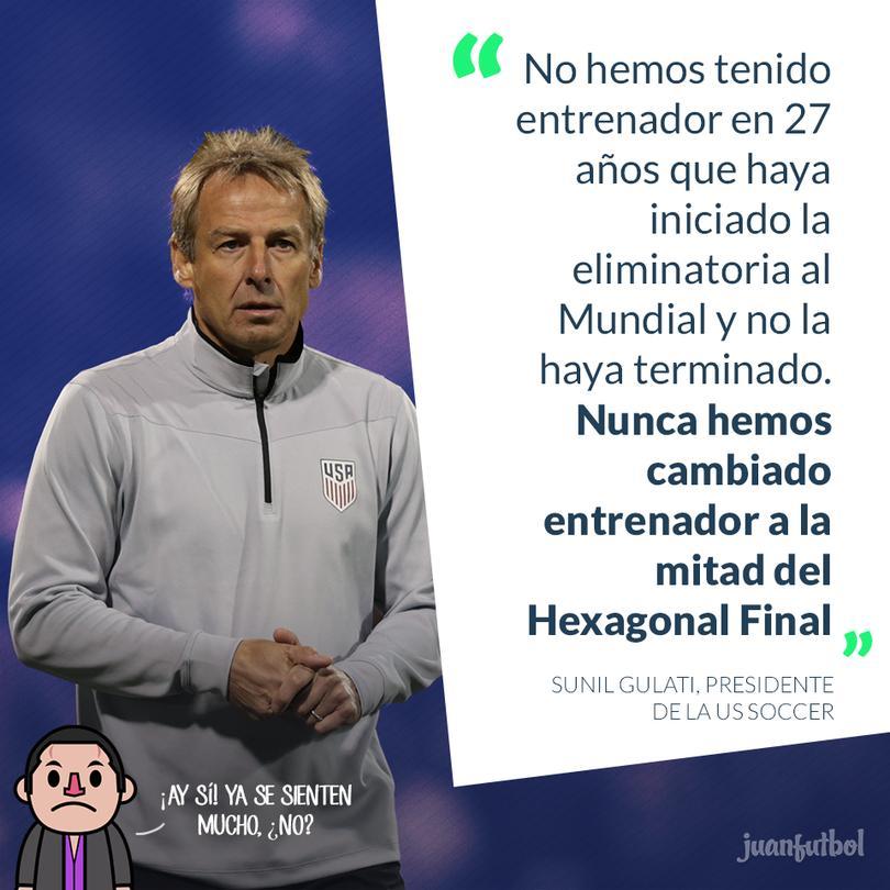 Klinsmann continuaría con Estados Unidos
