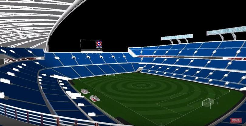 Propuesta para el nuevo Estadio Azul
