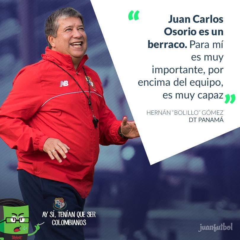 """Para """"el bolillo"""" Gómez, por encima de los jugadores mexicanos, está primero Osorio."""