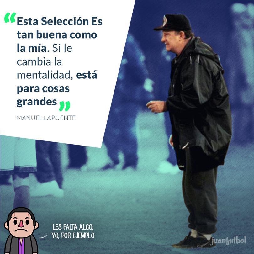 Lapuente cree que el Tri de Osorio es tan bueno como el suyo