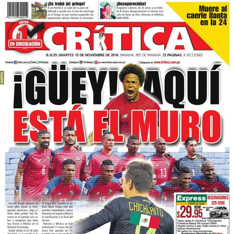 Diarios Panameños Se Burlan De México