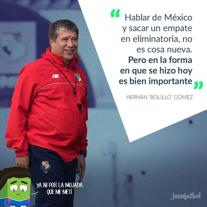 Bolillo Gómez técnico de Panamá