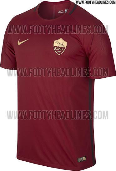 Así será la camiseta del 90 aniversario de la Roma