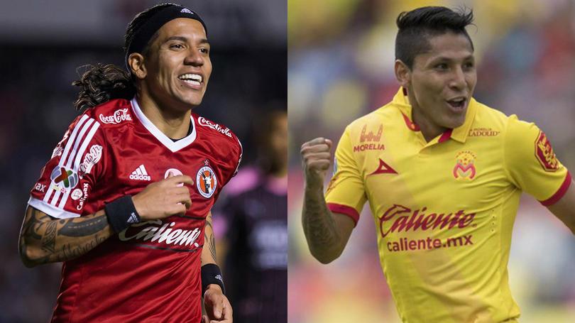 Moreno y Ruidíaz campeones de goleo.