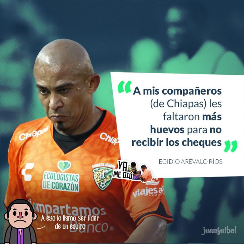 Egidio y el pago a jugadores de Jaguares