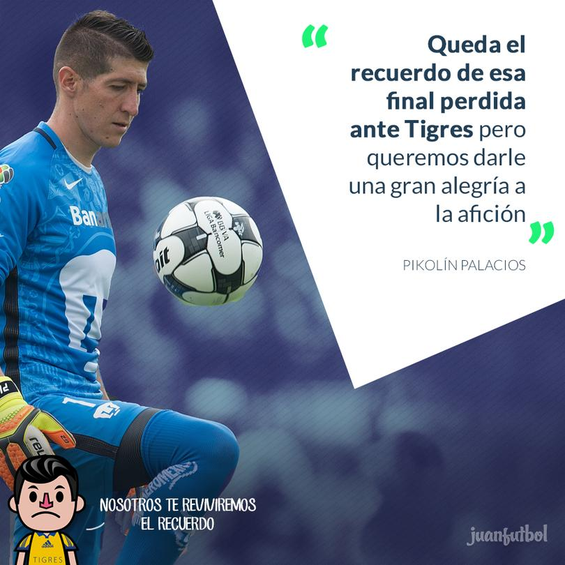 Pikolín habla sobre lo que representará su partido ante Tigres.