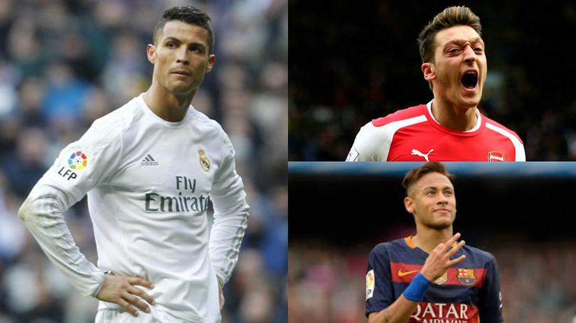 Futbolistas y cantantes