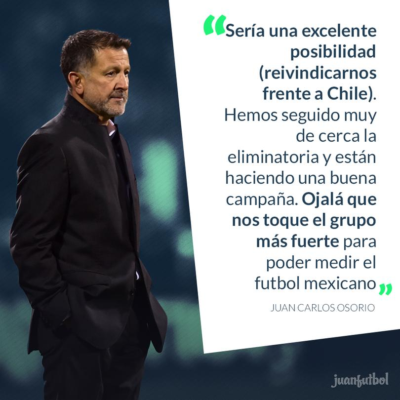 Osorio quiere a Chile en la Confederaciones