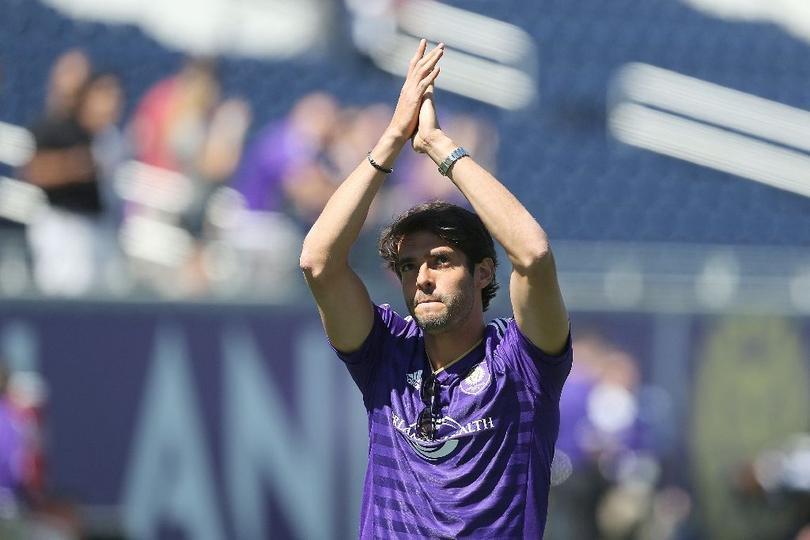 Kaká dijo que en diciembre del próximo año será cuando deje al Orlando City, equipo donde juega en la MLS.
