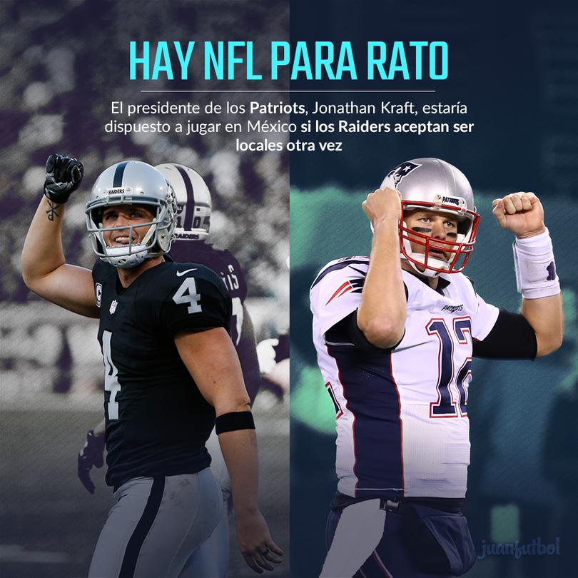 Raiders y Patriotas tienen un duelo pendiente en playoffs desde 2001.