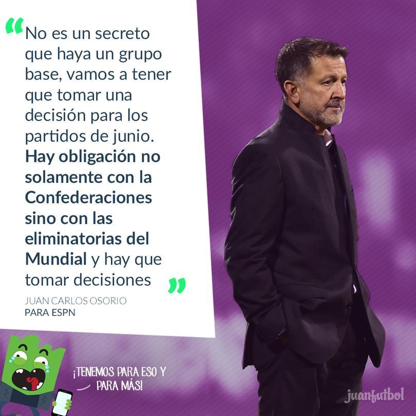 Aceptó Osorio que habrá que cumplir con ambos compromisos.