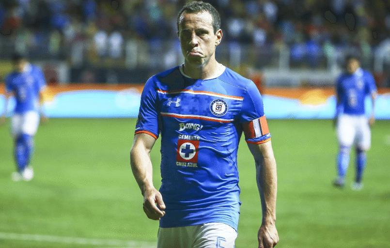 Gerardo Torrado en su etapa con Cruz Azul