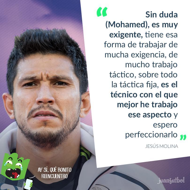 Molina y Mohamed ya habían trabajado en el América.