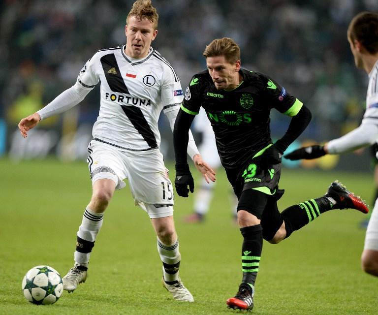 Legia Varsovia, entre las sorpresas