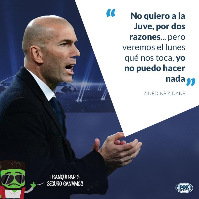 Zidane habló después del empate contra el Dortmund