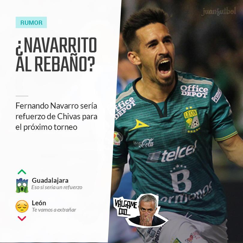 Fernando Navarro sería refuerzo de Chivas
