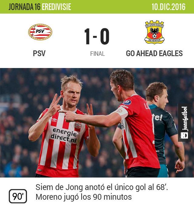 PSV gana