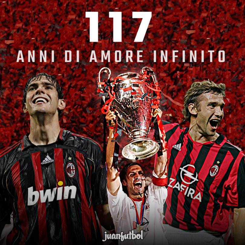 Milan cumple 117 años