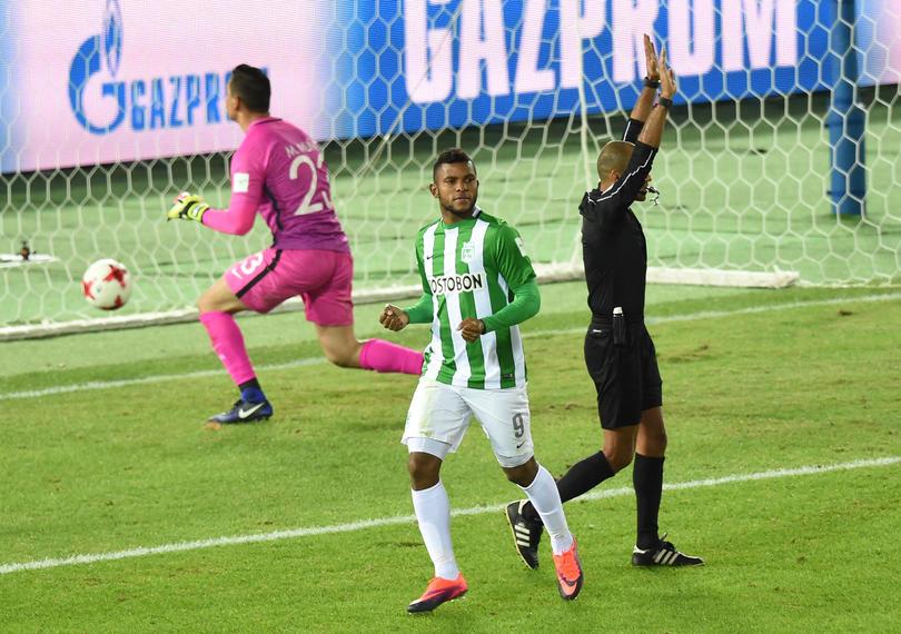 El delantero del Atlético Nacional, Miguel Borja, quien ha sido vinculado para llegar Cruz Azul en las últimas semanas, dijo que no sabía que existía el interés, sin embargo, aceptó que le gustaría venir a la Liga MX.