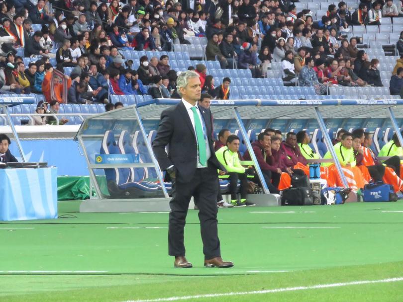 Reinaldo Rueda en el Mundial de Clubes