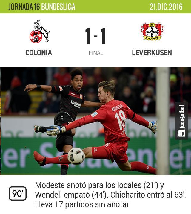 Leverkusen empata