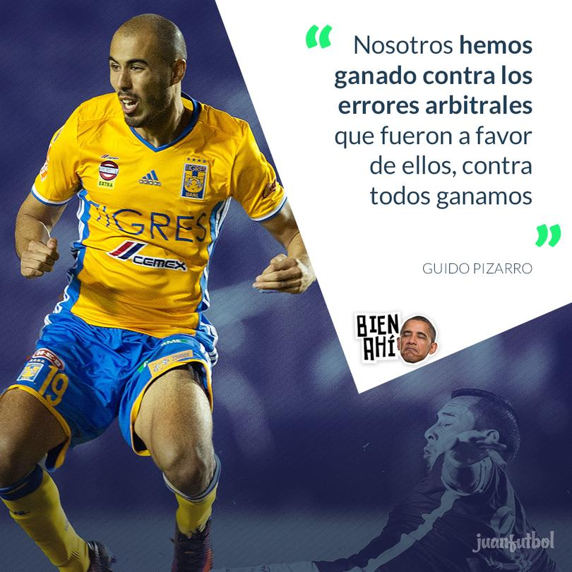 Guido Pizarro habló de la final