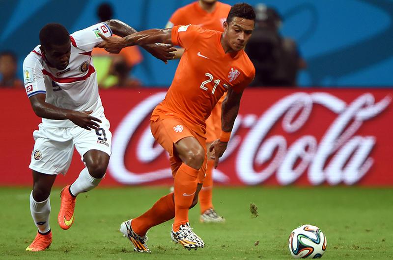 Depay con Holanda