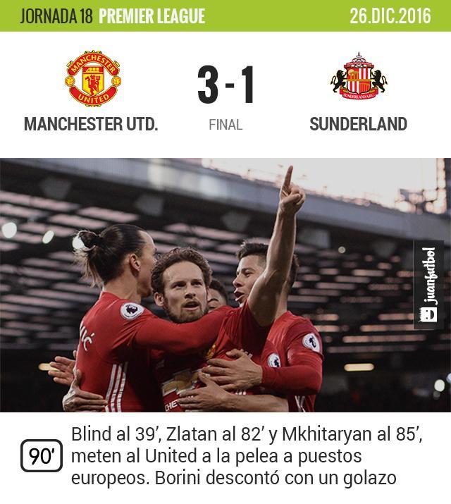 El Manchester United da espectáculo en el Boxing Day