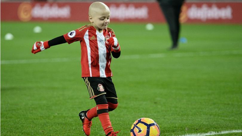 Bradley Lowery es un niño aficionado del Sunderland