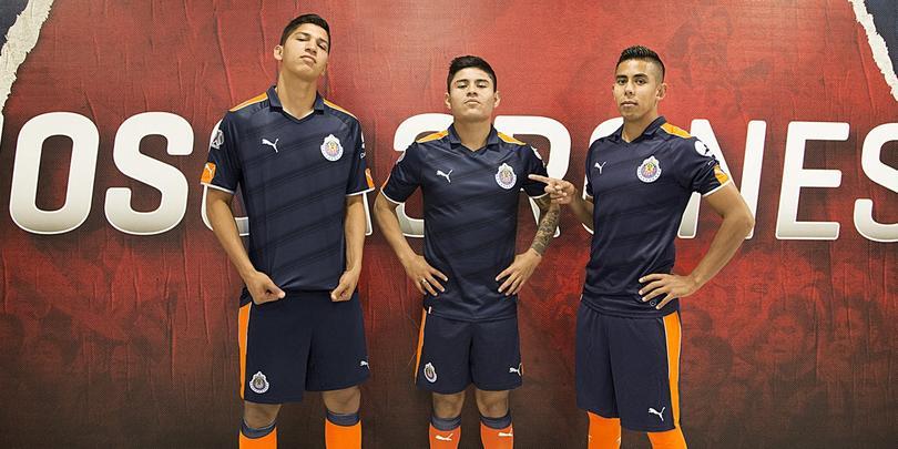 Chivas presentó su tercer uniforme