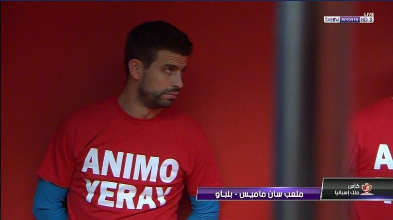 Apoyo de jugadores del Athletic y del Barcelona a Yeray, recién operado de cáncer