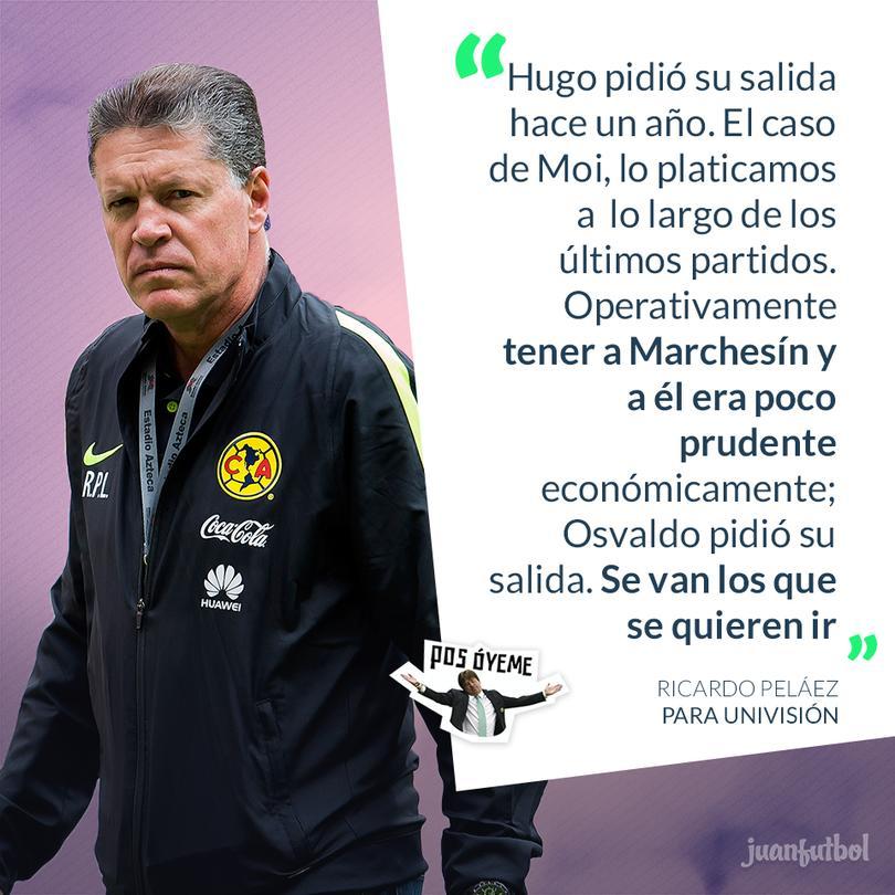 Peláez justificó las polémicas transferencias del América para el próximo torneo.