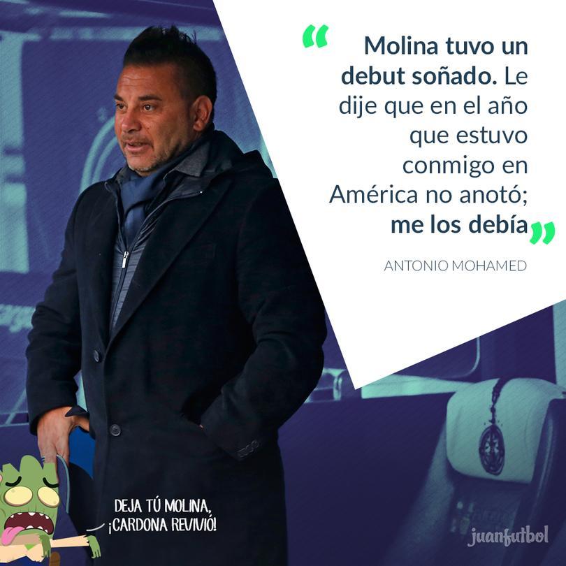 Jesús Molina y Antonio Mohamed ya habían trabajado juntos en el América.