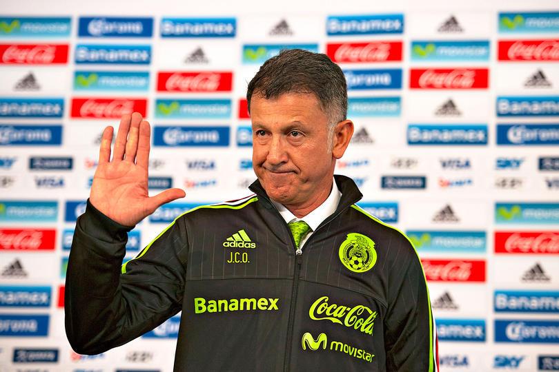Juan Carlos Osorio técnico de México en su presentación