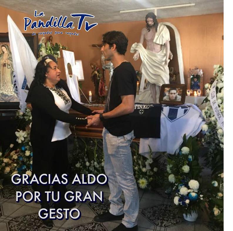 Aldo de Nigris asistió al funeral de Juventino Garza