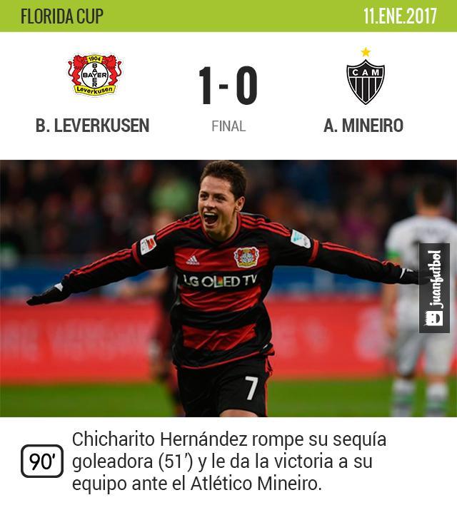 Chicharito vuelve a marcar gol después de 102 días