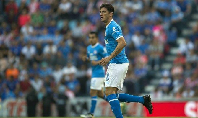 Gabriel Peñalba en el partido ante Pumas