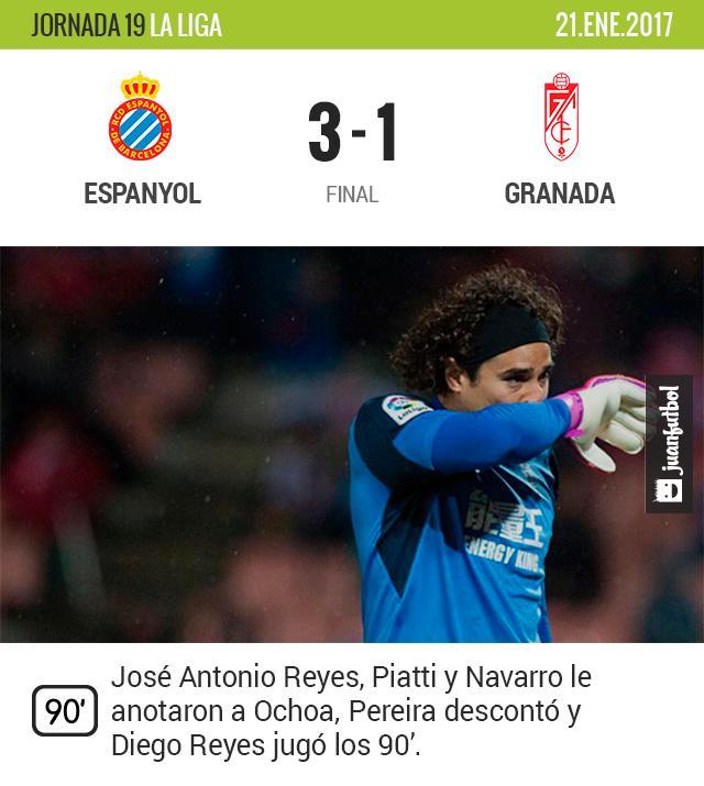 El Espanyol de Reyes le gana a Ochoa