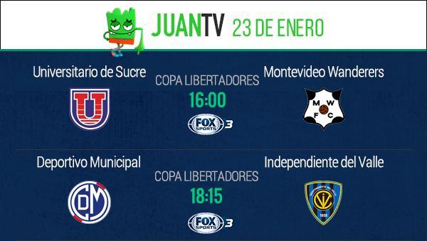 Lunes de Libertadores.
